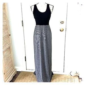 🆕Women's black & gray maxi dress